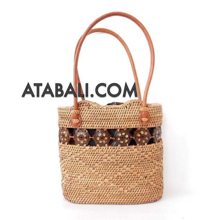 how to make rattan handbag