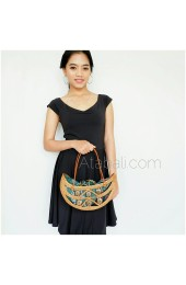 Ata rattan ethnic design with coconut wood
