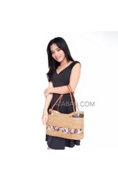 ladies shopping handbags ata rattan full handmade