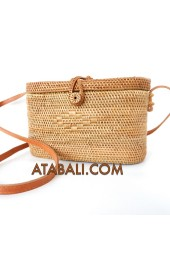 Ata basket bag full handmade balinese design