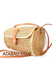 Ata large barrel bag full handmade
