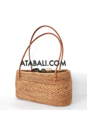 Ata rattan handwoven mini bag