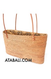 Ata rattan handwoven shopping handbags handmade