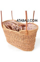 Lovely ata rattan handwoven bag