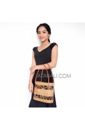 Ata rattan handwoven bag full handmade